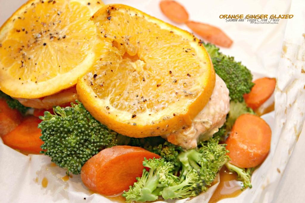 Orange Ginger Glazed Salmon Veggie Pack #SamsClubMag