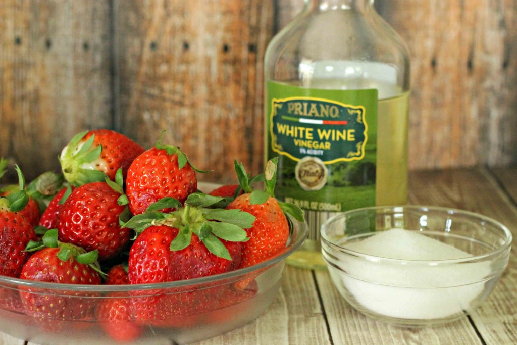 This is wha you need for the Strawberry Vinegar #Recipe
