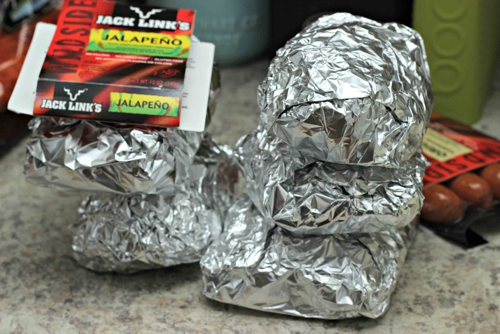 simple foil packs with veggie and #WildSideOfFlavor