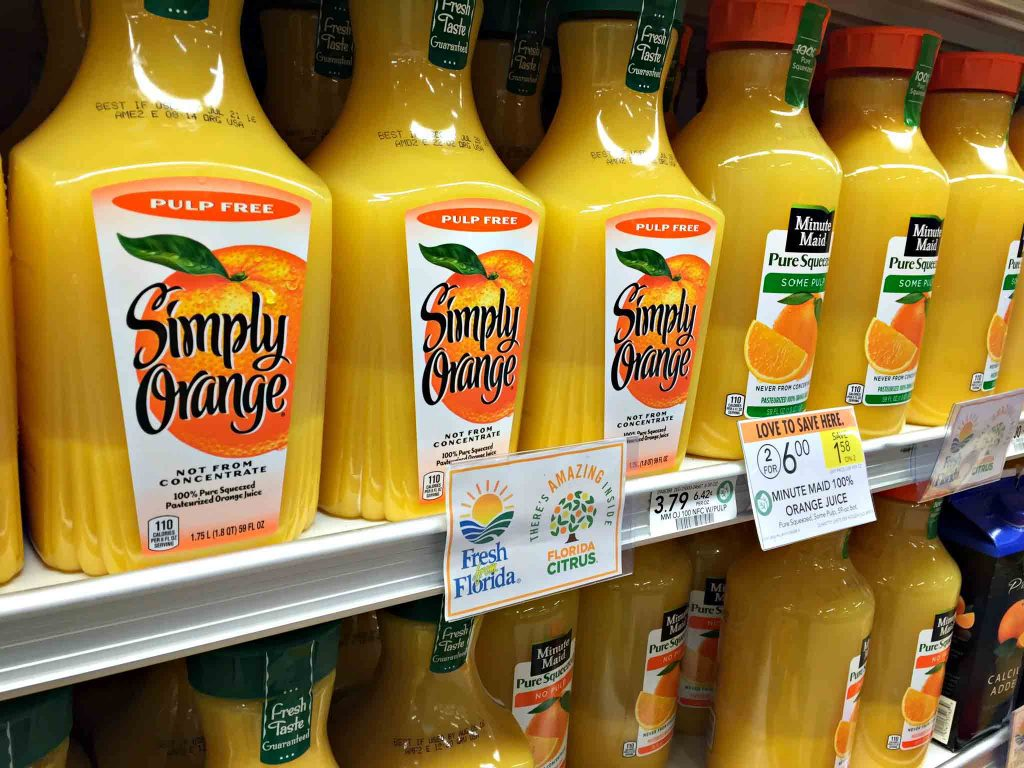 OJ Fresh From Florida