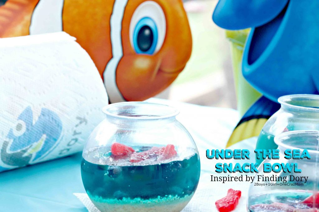Finding Dory inspired Under the Sea Snack Bowl