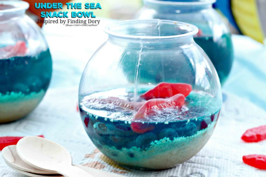 Under the Sea Snack Bowl inspired by Finding Dory