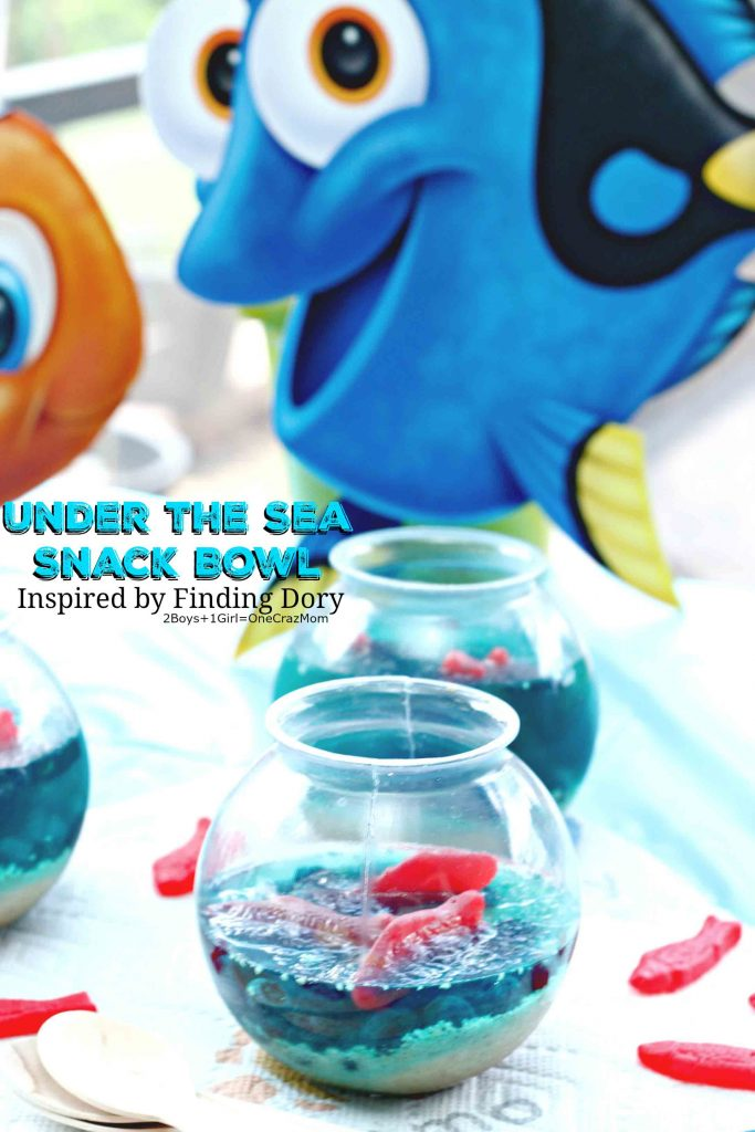Under the Sea Snack Bowl inspired by #FindingDory
