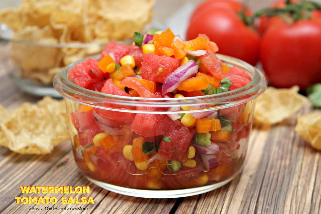 Watermelon Tomato Salsa Fresh From Florida