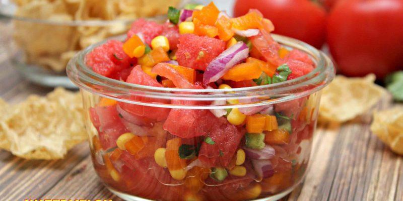 Watermelon Tomato Salsa Fresh From Florida