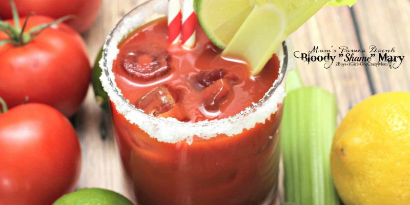 My Bloody Shame Mary Recipe