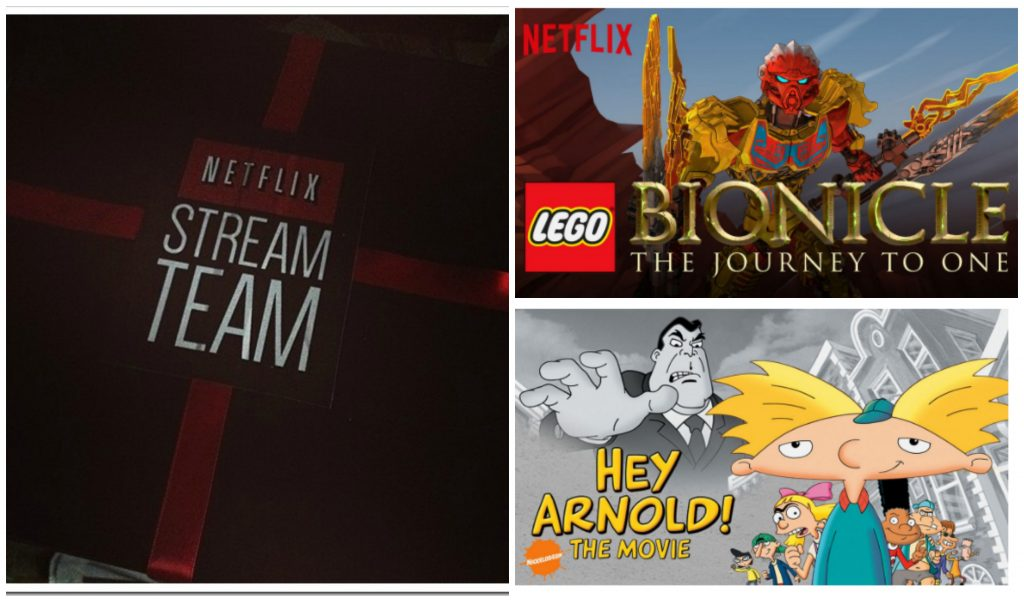 Netflix July stream team