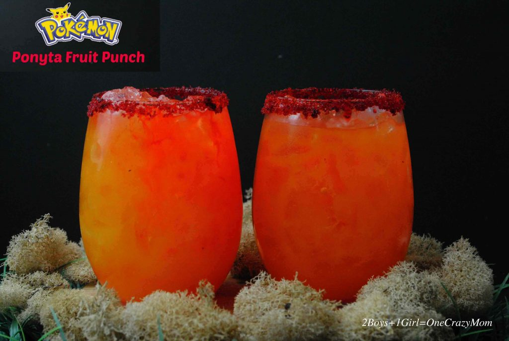 We caught the Pokemon Fever and inspired a drink idea