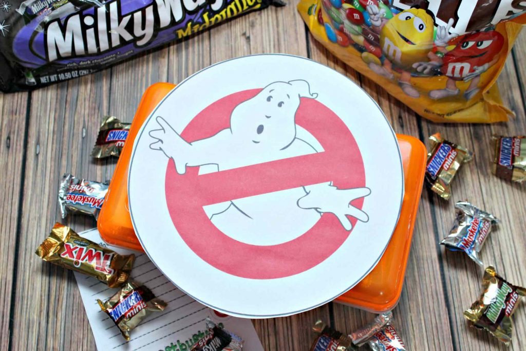 Back to School survival kit Ghostbusters style
