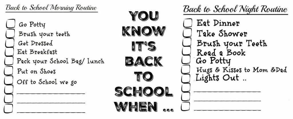 Back-to-School-Routine-Printable