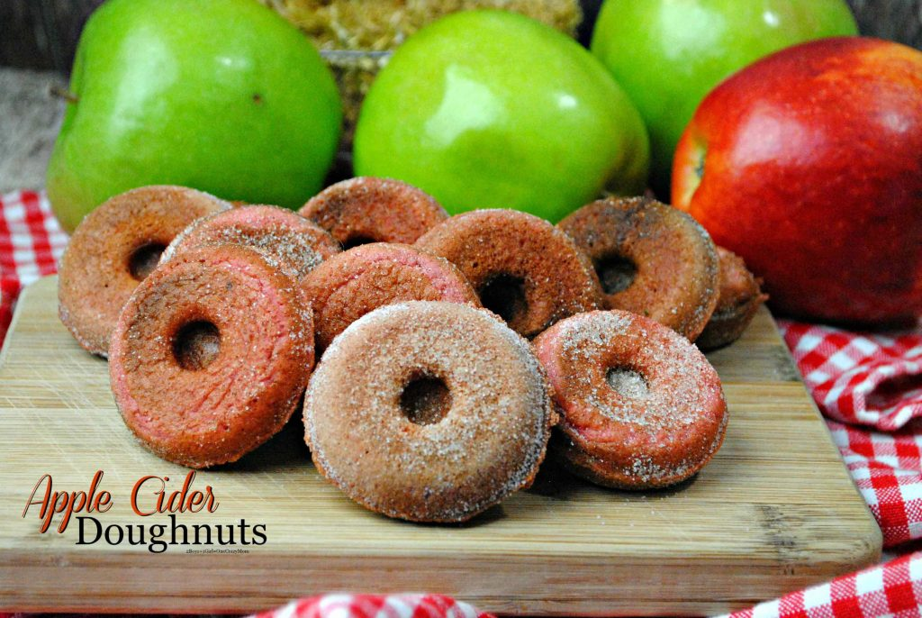 Apple Cider Doughnuts are a delicouse Fall treat