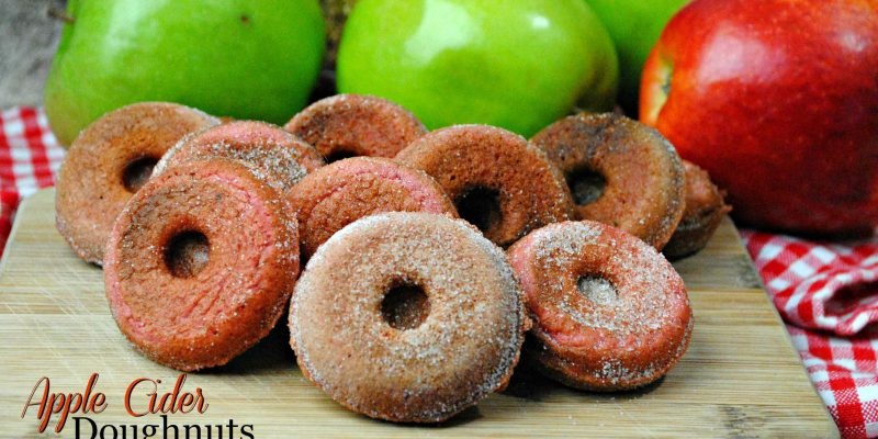 Apple Cider Doughnuts are a delicouse Fall treat