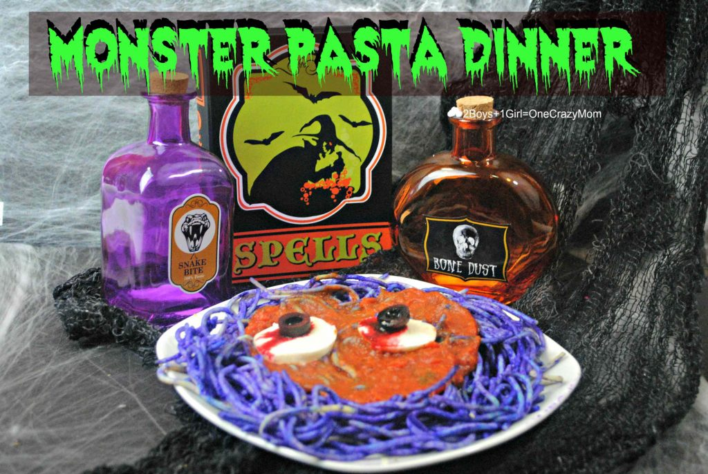monster-pasta-meal-idea