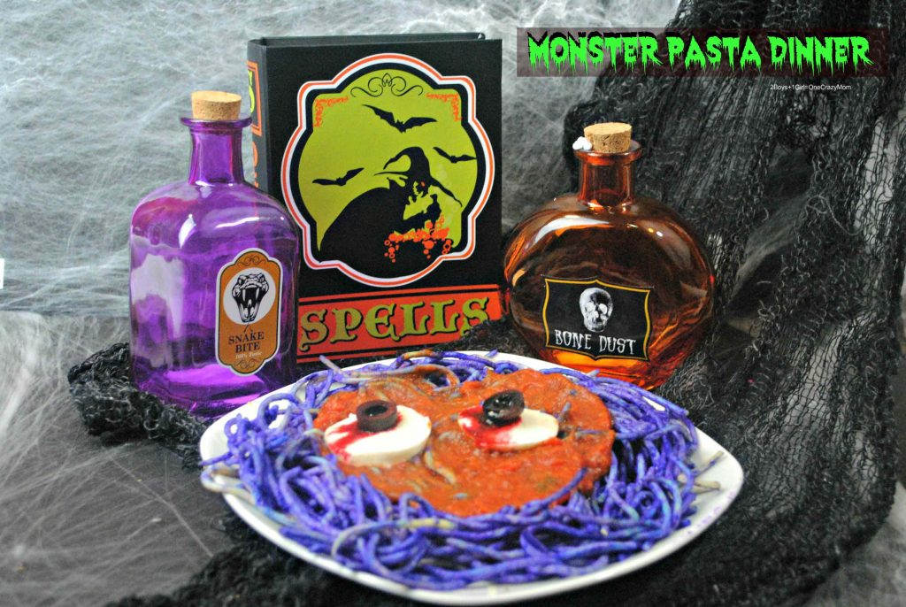 monster-pasta-dinner-idea