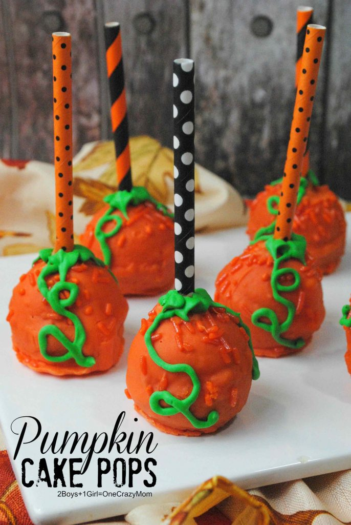 Make Simple Pumpkin Cake Pops For Your Fall Party