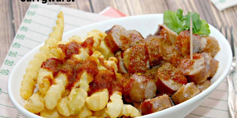 Currywurst Homemade in no time for the Big Game