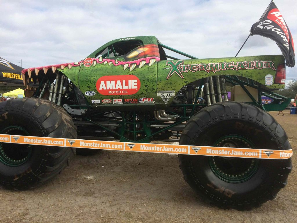 Monster Trucks rolled into Tampa Bay with a roar and on the way to Orlando now