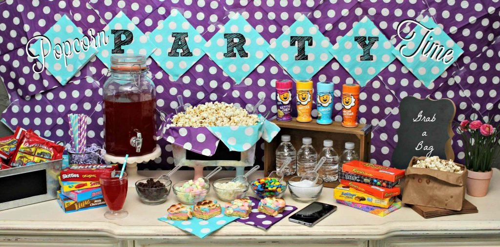Save money by switching your Cell Phone provider and throw a Popcorn Party
