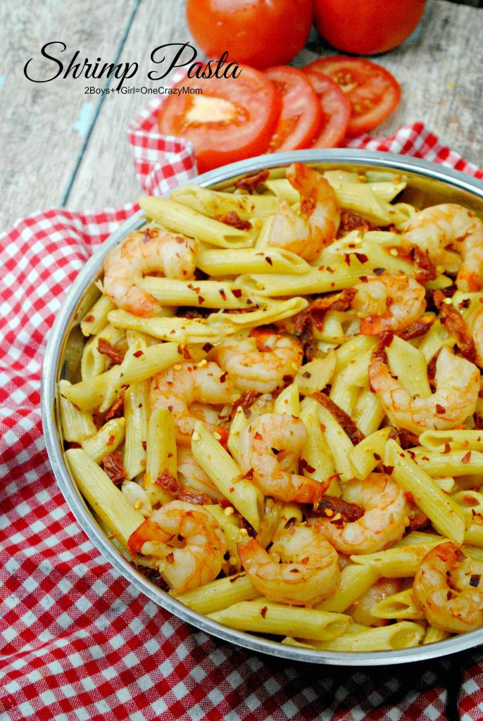 Date night with Netflix was a hit and a great Shrimp Pasta ...