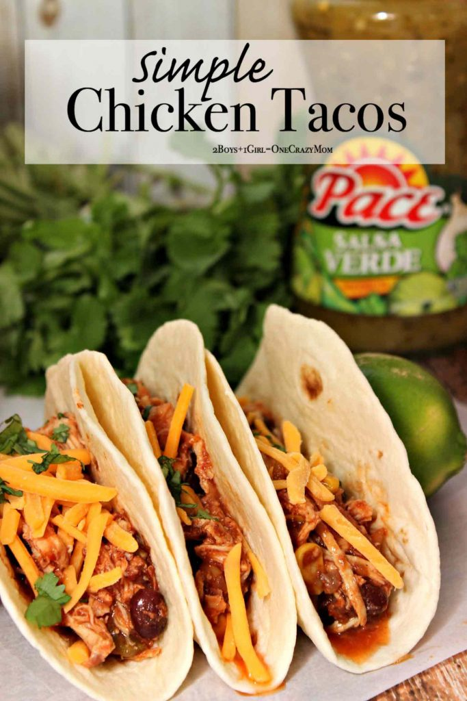 Slow Cooker Chicken Tacos are the perfect Touchdown for ...