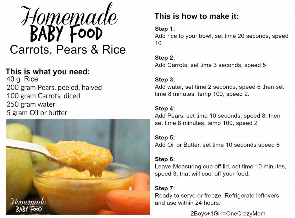 Make Your Own Baby Food From Scratch In No Time With Your