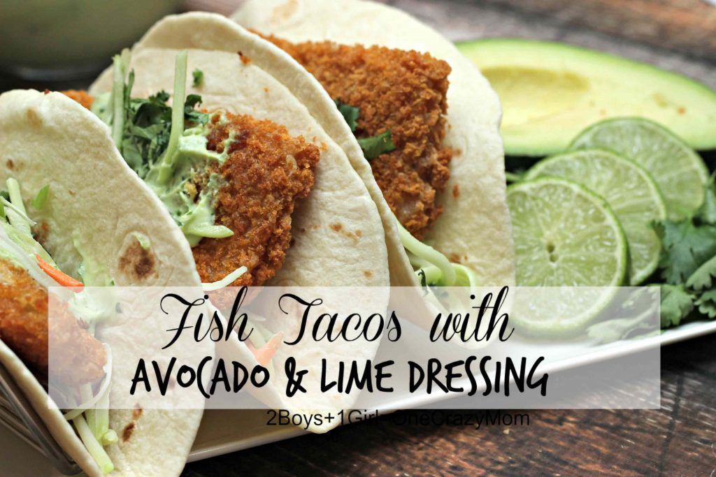 Simple and delicious Fish Tacos are my smart Dinner solution