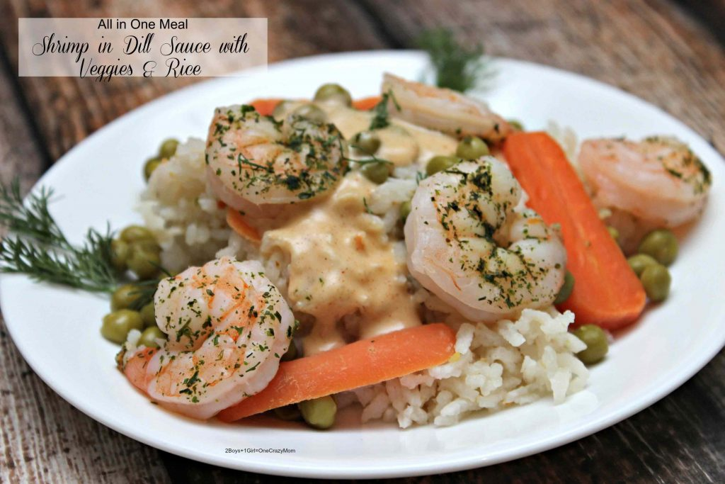 Dish up an All in One Shrimp And Vegetable Meal in Under 30 Minutes