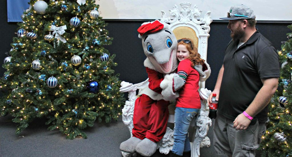 Spend a Day with Winter Claus at the Clearwater Marine Aquarium