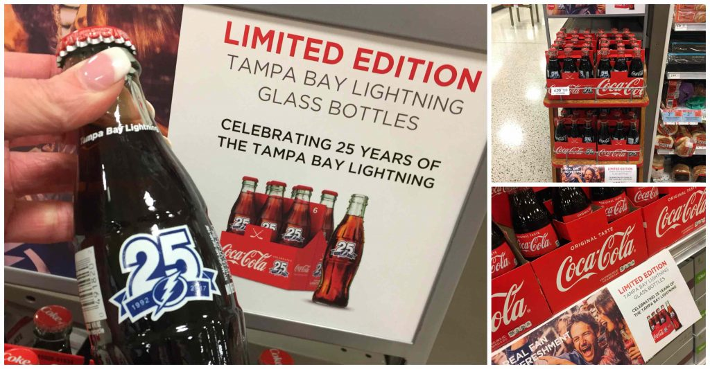 Congratulations Tampa Bay Lightning on 25 years